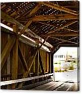Wood Fame Bridge Canvas Print