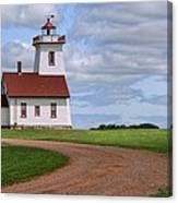 Wood Islands Lighthouse - Pei Canvas Print