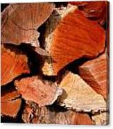 Wood Puzzle Canvas Print