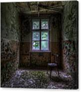 Wooden Chair Room Canvas Print