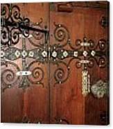 Wooden Doors Canvas Print