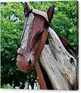 Wooden Horse20 Canvas Print
