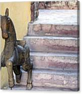Wooden Horses 2 Canvas Print