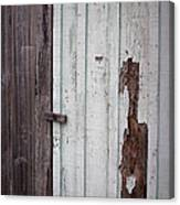 Wooden Latch Canvas Print