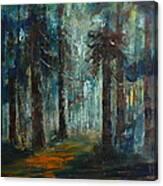 Woodland At Wilsonia 02 Canvas Print