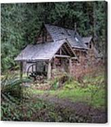 Rustic Cabin Canvas Print