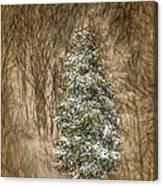 Woodland Christmas Canvas Print