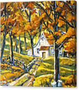 Woodland Sugar Shack By Prankearts Canvas Print
