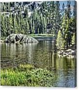 Woods Lake 2 Canvas Print
