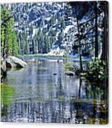 Woods Lake Canvas Print