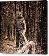 Woods Of Terror Canvas Print