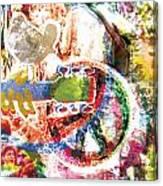 Woodstock Original Painting Print  Canvas Print