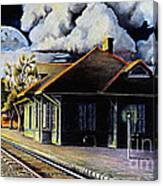 Woodstock Station Canvas Print