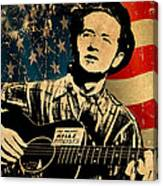 Woody Guthrie 1 Canvas Print