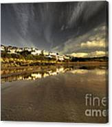 Woolacombe Beach Canvas Print