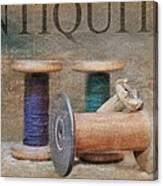 Woolrich Woolen Mill Spools Canvas Print