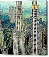 Woolworth Building New York City 20130427 Canvas Print