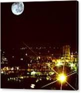Worcester Moon Canvas Print