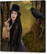 Words Of The Crow Canvas Print