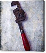 Work Wrench Canvas Print