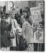 Workers At The Grunwick Laboratories Offered Council Houses Canvas Print