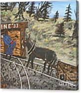 The Coal Mine Canvas Print