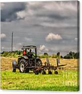Working The Land Canvas Print