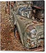 Working Truck  Canvas Print