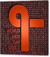 World Aids Day Canvas Print
