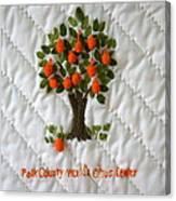 World Citrus Center Canvas Print