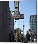World Famous Gold And Silver Pawn Shop Canvas Print