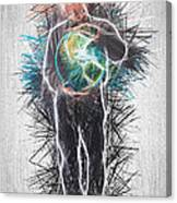 World In His Hands Canvas Print