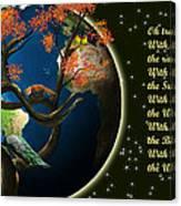 World Needs Tree Canvas Print
