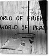 World Of Friends Canvas Print