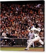 World Series - Detroit Tigers V San Canvas Print