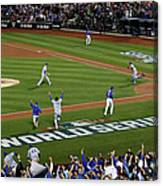 World Series - Kansas City Royals V New Canvas Print