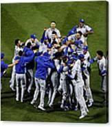 World Series - Kansas City Royals V New Canvas Print