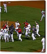 World Series - St Louis Cardinals V Canvas Print