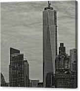 World Trade Center Construction Canvas Print