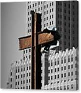 World Trade Center Cross New York Canvas Print
