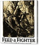 World War 1 - U. S. War Poster Canvas Print