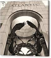 World War 2 Atlantic Memorial Canvas Print