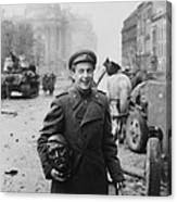 World War 2, Battle Of Berlin, April Canvas Print