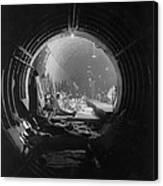 World War 2, Battle Of Britain. Subway Canvas Print
