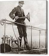 World War I Air Raid Siren Canvas Print