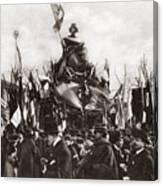 World War I Monument Canvas Print