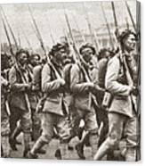 World War I Paris, C1917 Canvas Print