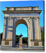 World War I Victory Arch Newport News Canvas Print