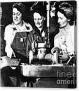 World War II Workers Canvas Print