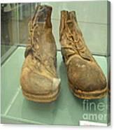 World War One Boots Canvas Print
